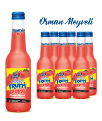 Uludağ Frutti Extra Orman Meyveleri Cam 250 ml 6′lı Paket