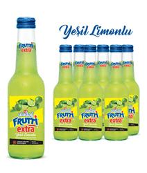 - Uludağ Frutti Extra Yeşil Limon Cam 250 ml 6′lı Paket