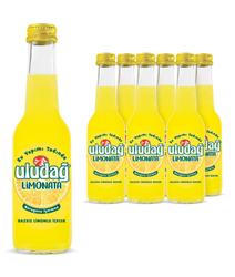 - Uludağ Limonata Cam 250 ml 6′lı Paket