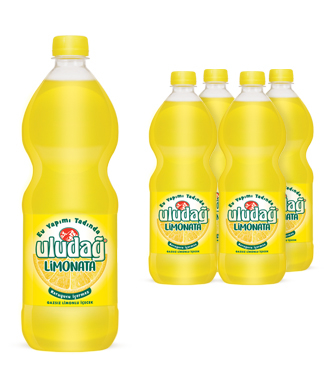 Uludağ Limonata Pet 1 Lt 4′lü Paket