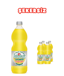 - Uludağ Limonata Şekersiz Pet 1 Lt 4′lü Paket