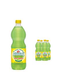 - Uludağ Limonata Yeşil Limonlu Pet 1 Lt 4′lü Paket