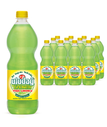 - Uludağ Limonata Yeşil Limonlu Pet 1 Lt 12′li Paket