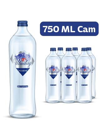 Uludağ Premium Su Cam 750 ml 6′lı Paket
